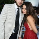 Mila Kunis and Ashton Kutcher First Kiss
