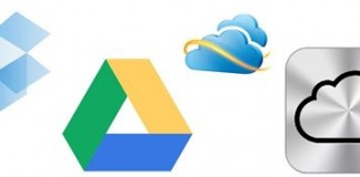SkyDrive Google Drive iCloud or Dropbox