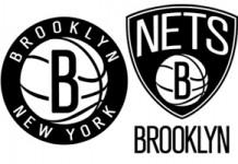 Brooklyn Nets New Black and White Logo