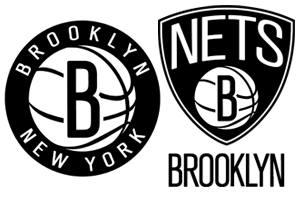 Brooklyn Nets New Black and White Logo Brooklyn Nets New Black and White Logo