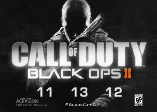 Call of Duty Black Ops II Call of Duty Black Ops II Sale On November 13
