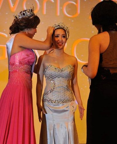 Karisa Sukamto Miss World Singapore 2012