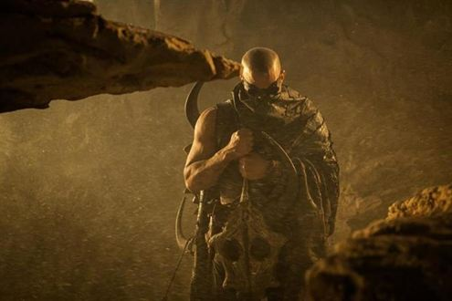 Vin Diesel New Image as Riddick Vin Diesel New Image as Riddick