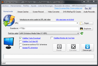 aTube Catcher 2.9 Download aTube Catcher 2.9