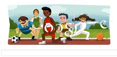 London Olympic Opening Ceremony First By Google