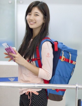 Miss Suzy Airport Fashion Received Fans Attention