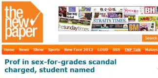 Prof in sex for grades scandal student Darinne Ko Wen Hui