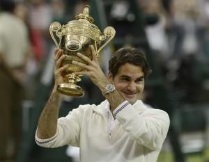 Roger Federer Won His Seventh Wimbledon World Title