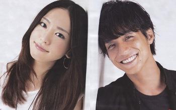 Aragaki Yui and Nishikido Ryo At Drama Full Throttle Girl