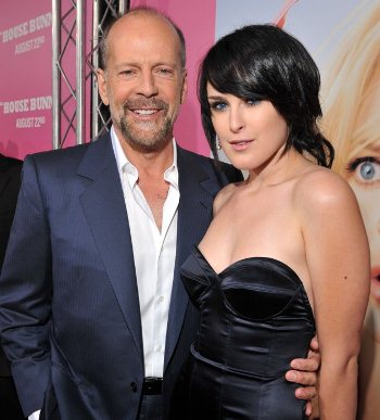 BRUCE AND RUMER WILLIS Not So Hot Fathers Super Hot Daughters
