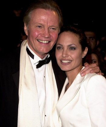 JON VOIGHT AND ANGELINA JOLIE Not So Hot Fathers Super Hot Daughters