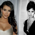 Kim Kardashian Dares to Compare herself with Sophia Loren