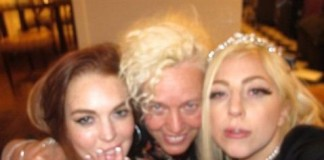 Lady Gaga Party With Lindsay Lohan