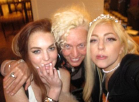 Lady Gaga Party With Lindsay Lohan Lady Gaga Panty Party With Lindsay Lohan