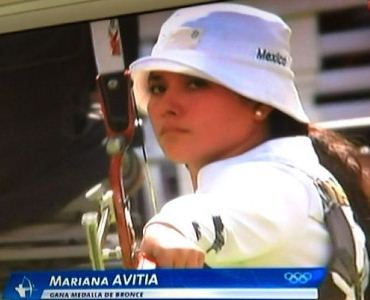 Mariana Avitia Won Bronze Medal in Archery Mariana Avitia Won Bronze Medal in Archery