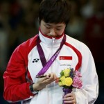 Singapores Feng Tianwei celebrates with her bronze medal 150x150 Mariana Avitia Won Bronze Medal in Archery