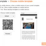 Blogger Mobile Version Dynamic Views Setting