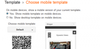 Blogger Mobile Version Dynamic Views Setting