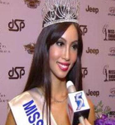 Lynn Tan was crowned Miss Universe Singapore 2012 Miss Universe Singapore 2012
