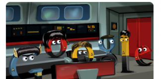 Star Trek The Original Series Google Doodle