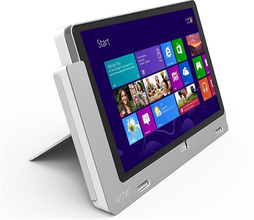 Acer Unveils Tablet Iconia W700P Professional