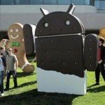 Android Ice Cream Sandwich Still Eating Gingerbread