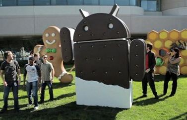 Android Ice Cream Sandwich Android Ice Cream Sandwich Still Eating Gingerbread