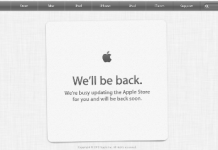 Apple Closing Online Store