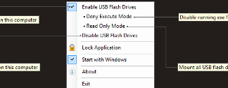 Disable or Enable USB Drives