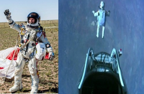 Felix Baumgartner Video Red Bull Stratos Man Felix Baumgartner Space Jump