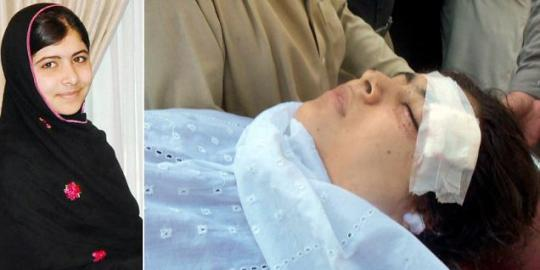 Malala Yusafzai 14 Years Old Girl Shoot In Head By Taliban