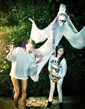 Miley Cyrus Halloween Costume 2012