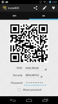 Share WiFi With InstaWiFi Quickly Connect And Share WiFi With InstaWiFi