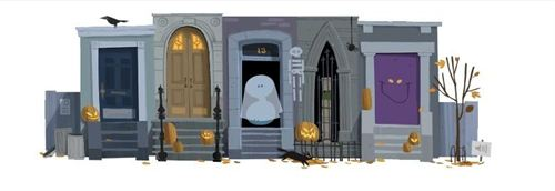 The Halloween Spirit 2012 Takes Over by Google