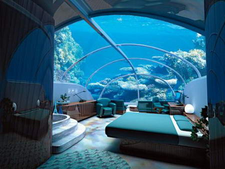 underwater hotel fiji room An Underwater Hotel Poseidon