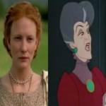 Cate Blanchett is Cinderella's Stepmother