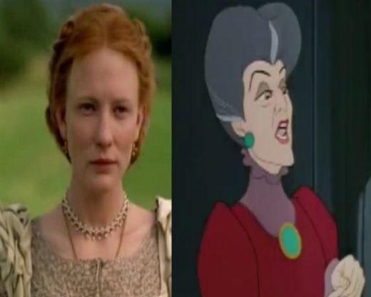 Cate Blanchett Cinderella Stepmother
