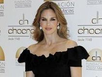 Genoveva Casanova Stuning Look with Elegant Black Dress