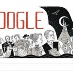 Google Honor Father of Dracula Bram Stoker on Google Doodle