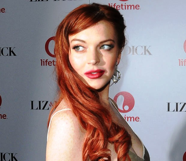 Lindsay Lohan get caught for Assault