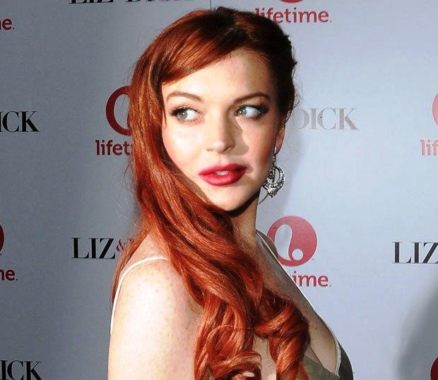 Lindsay Lohan get caught for Assault