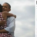 Picture of Obama Hugging his Wife on Facebook Makes History
