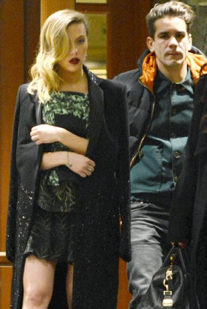 Scarlett Johansson New French Boyfriend Romain Dauriac
