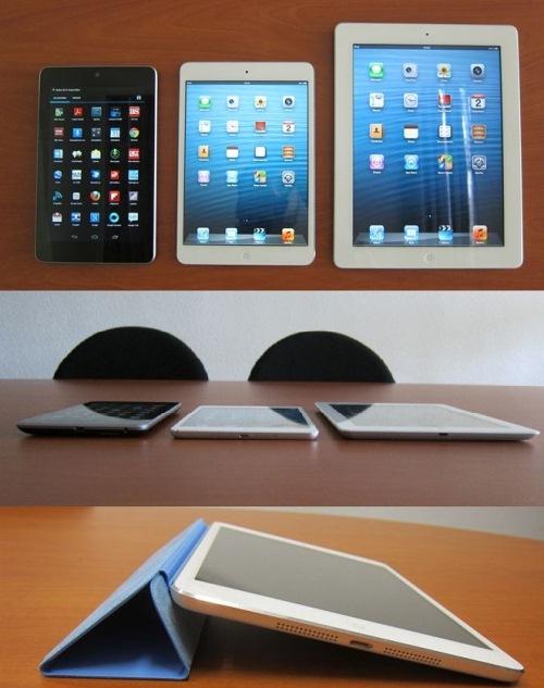 User Based Review iPad Mini vs iPad and Nexus 7