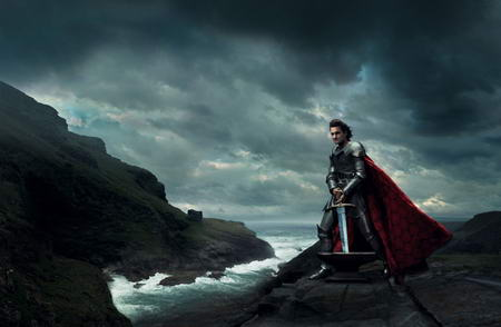 roger federer king arthur Celebrities Photos as Disney Legends by Annie Leibovitz