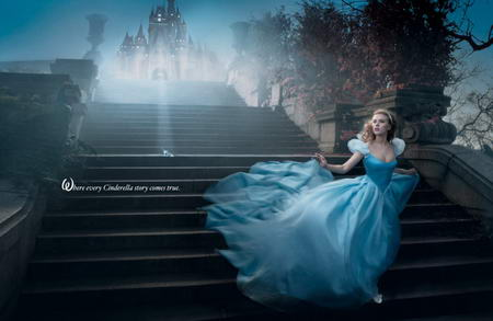 scarlett johansson cinderella Celebrities Photos as Disney Legends by Annie Leibovitz