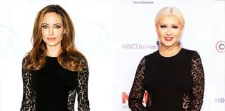 Angelina Jolie Vs Christina Aguilera