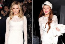Ashley Tisdale And Lindsay Lohan