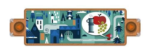 Brothers Grimm Honored With Google Doodle1