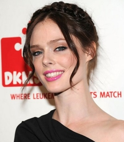 Coco Rocha 5 Eye Colors With the Most Amazing Pink Lips